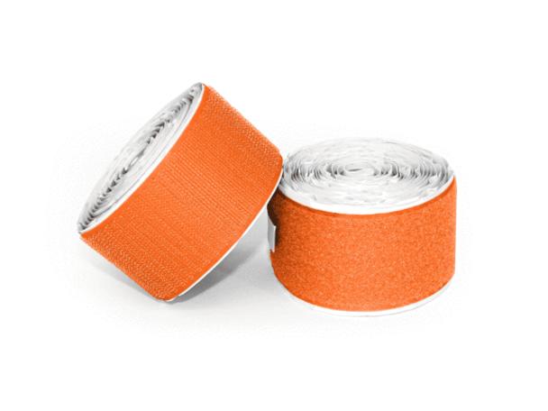 Pedaltrain Hook and Loop Love 10' Hook-and-Loop Bright Orange