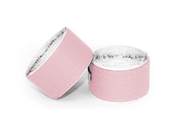 Pedaltrain Hook and Loop Love 10' Hook-and-Loop Pale Pink