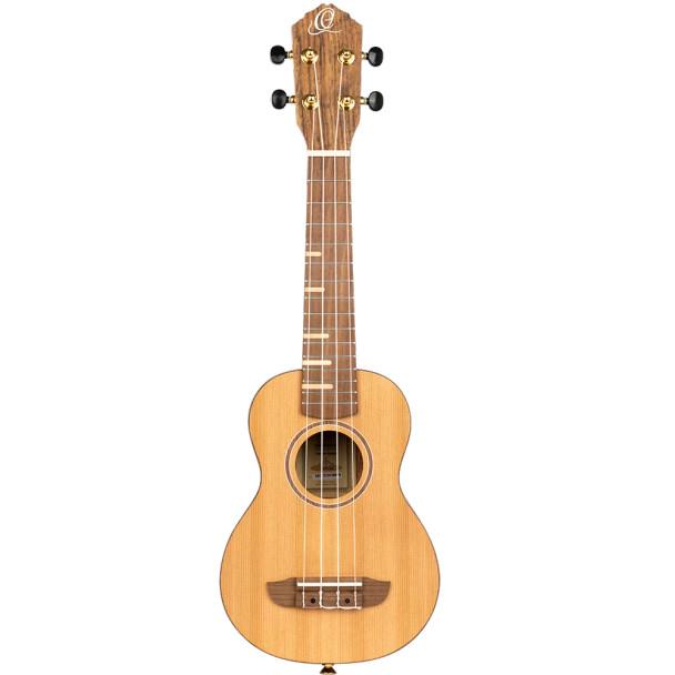 Ortega RUTI-SO Timber Series Soprano Ukulele (USED)