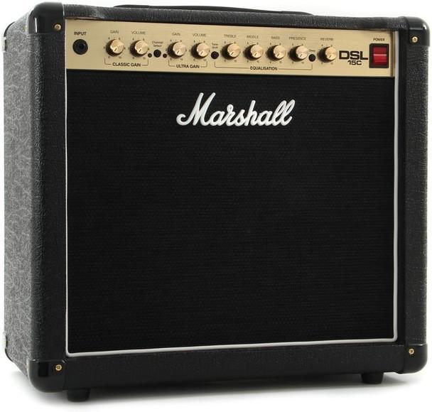 Marshall DSL15C Tube Guitar Combo Amp