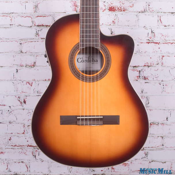 Cordoba C5-CE Classical Acoustic Electric Guitar Sunburst