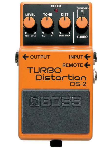 Boss DS‑2 Turbo Distortion Guitar Effect Pedal