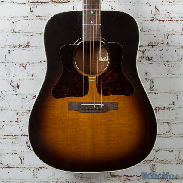 1994 Gibson 100th Anniversary Gospel Left-Handed Acoustic Guitar Vintage Sunburt