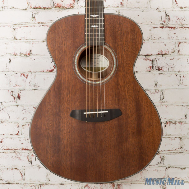 Breedlove Limited Edition Stage Concert E Mahogany Acoustic Electric Guitar Satin Finish