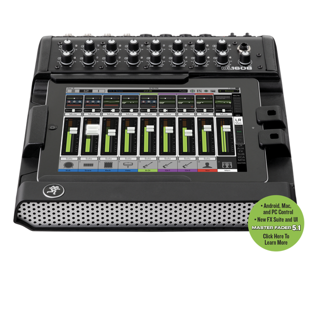 Mackie DL1608 iPad-controlled Digital Mixer
