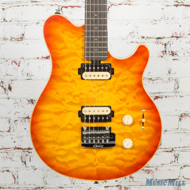 Sterling AX30 Sunburst Electric Guitar (USED) (ax30u)