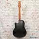 2005 Ovation Custom Legend LX Acoustic Electric Guitar Black w/OHSC x5142 (USED)