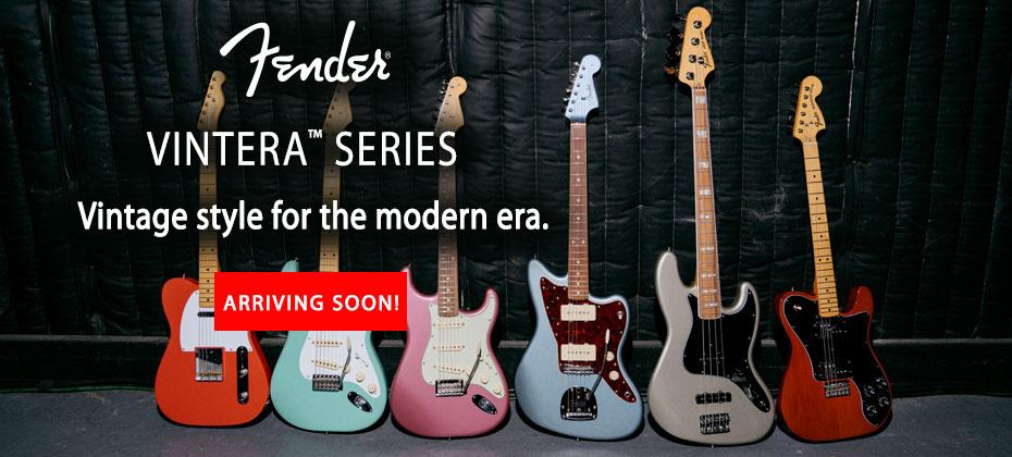 Fender Vintera Series Guitar