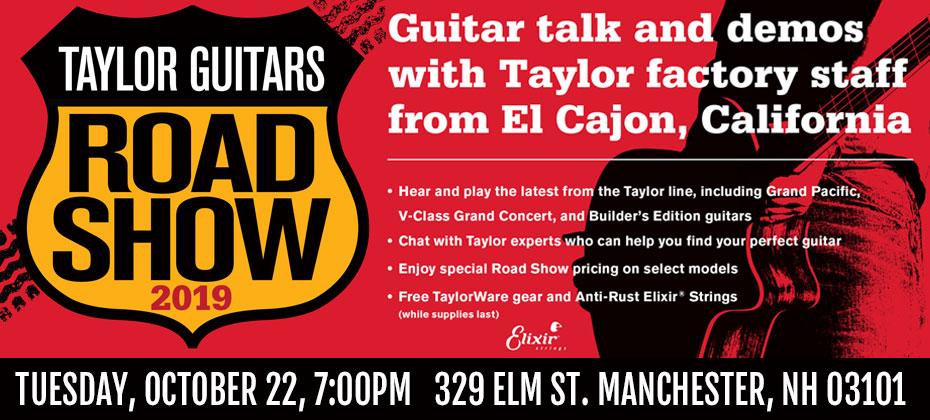 Taylor Guitar Dealer Road Show 2019