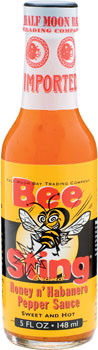 Bee Sting Honey & Habanero Hot Sauce