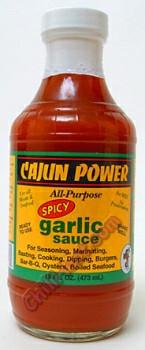 Cajun Power Spicy Garlic All Purpose Hot Sauce