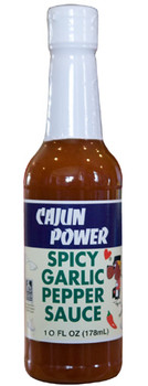 Cajun Power Spicy Garlic Pepper Hot Sauce