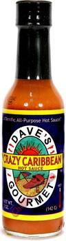 Dave's Gourmet Crazy Caribbean Hot Sauce