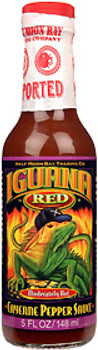 Iguana Red Cayenne Pepper Hot Sauce
