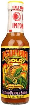 Iguana Gold Hot Sauce