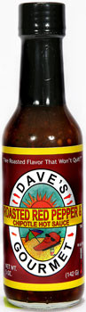 Dave's Gourmet Roasted Pepper Hot Sauce