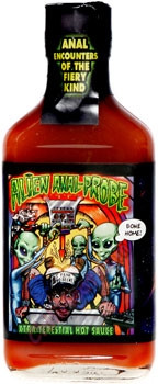 Alien Anal Probe Red Hot Sauce - NLA