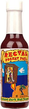 Rectal Rocket Fuel Island Jerk Hot Sauce