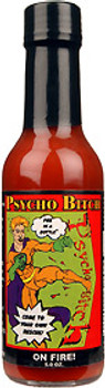 Psycho Bitch On Fire Hot Sauce