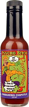 Psycho Bitch Habanero Chipotle Hot Sauce