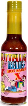 Buttplug Relief Extra Hot Suace