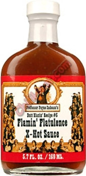 Flaming Flatulence Hot Sauce