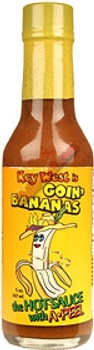 Goin Bananas Hot Sauce