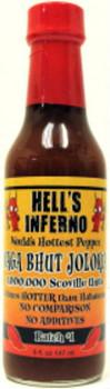Hell's Inferno Naga Bhut Jolokia Sauce - NLA