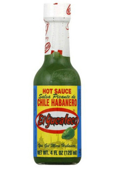 El Yucateco Chili Habanero Hot Sauce, Green