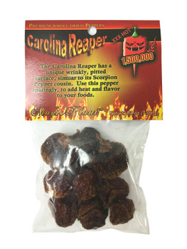 Carolina Reaper Dried Chili Pods