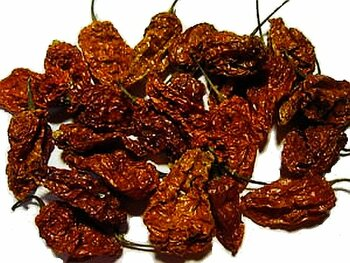 BULK Ghost Pepper Dried Chili Pods