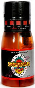 Dave's Gourmet Adjustable Heat Hot Sauce