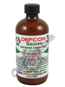 Defcon 3 Low Heat Hot Sauce