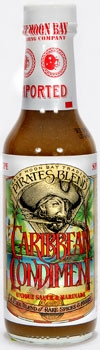 Pirates Blend Caribbean Condiment Hot Sauce