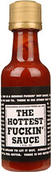 The Hottest F-in Sauce Hot Sauce - Mini