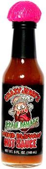 Crazy Jerry's Brain Damage Hot Sauce