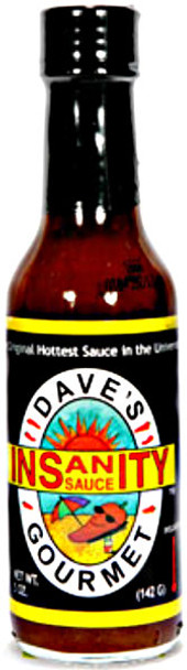 Dave's Gourmet Insanity Hot Sauce - The Original!