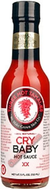 Three Hot Tamales Cry Baby Hot Sauce - NLA