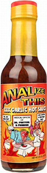 Analyze This XXX Hot Sauce