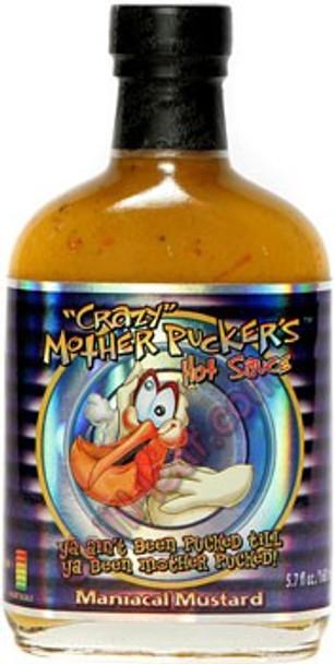 Crazy Mother Pucker's Maniacal Mustard Hot Sauce