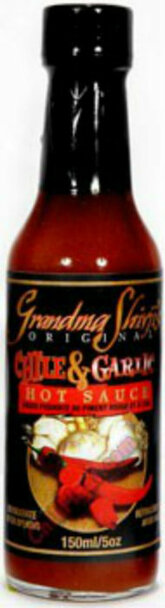 Grandma Shivji's Chili and Garlic Hot Sauce