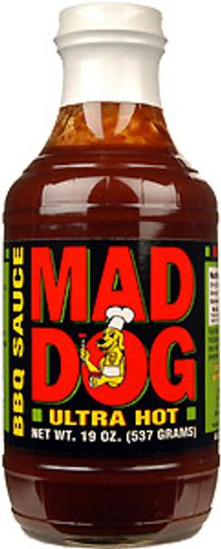 Mad Dog Ultra Hot BBQ Sauce