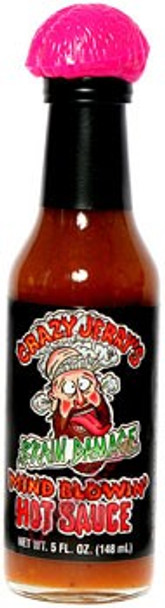 Crazy Jerry's Brain Damage Hot Sauce