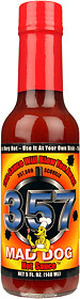 Mad Dog 357 Hot Sauce, Heat 12
