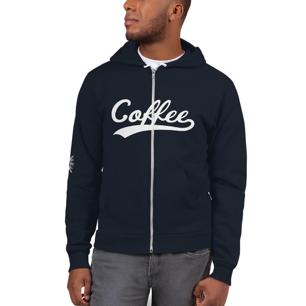 Hoodie sweater Coffee