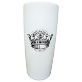 Leiva's Tumbler || MiiR White Crown