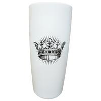 Leiva's Tumbler || MiiR White Crown