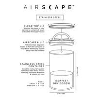 Airscape Coffee Storage