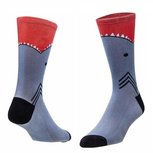 Sublimity® Shark Bite Novelty (1 Pair) Men's Casual Dress Socks