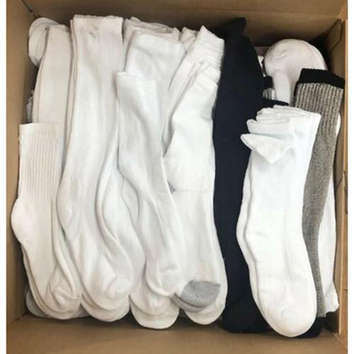 Bulk Assorted Imperfect Crew Socks
